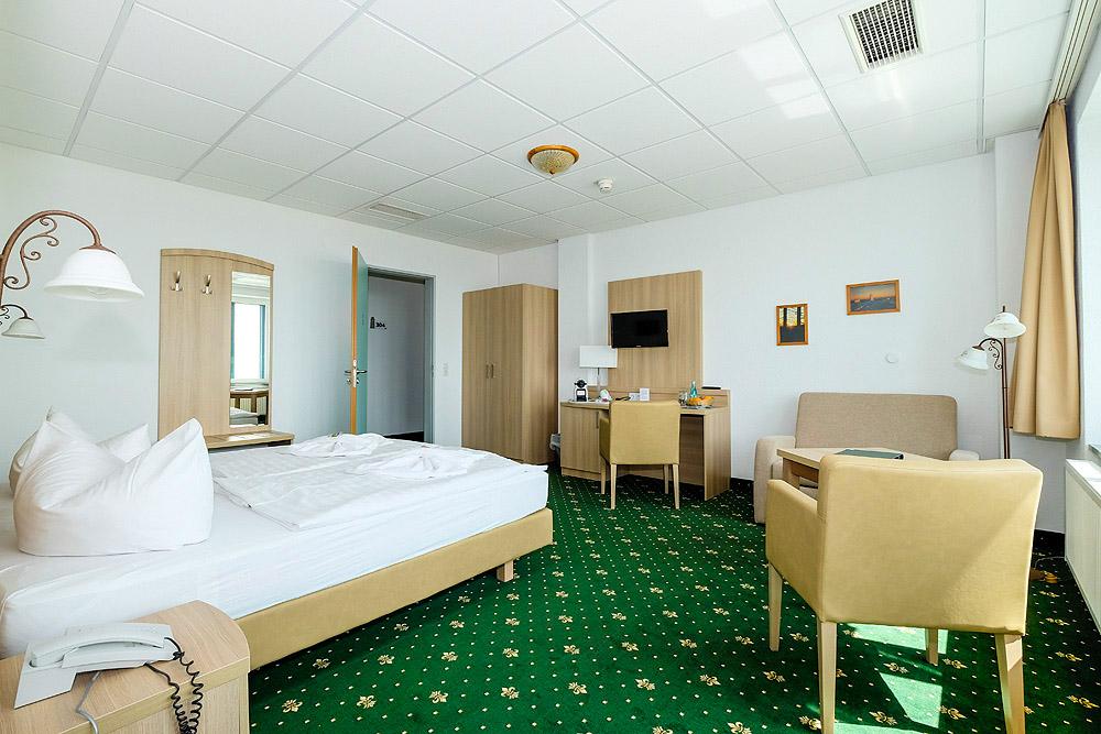 Zimmer Brockenhotel 3. u. 4. Etage