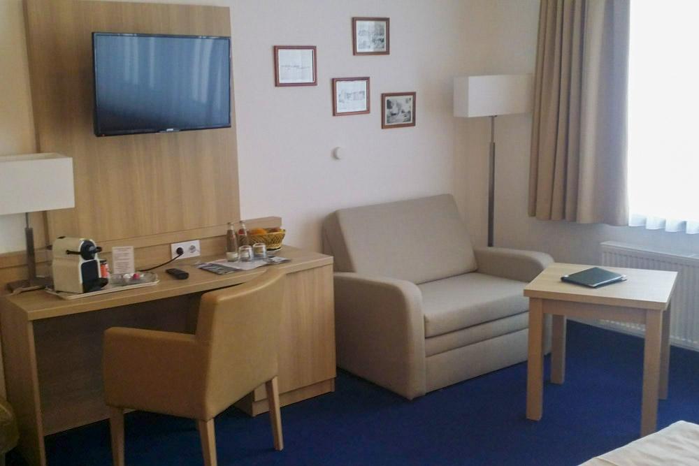 Zimmer Brockenhotel 6. Etage